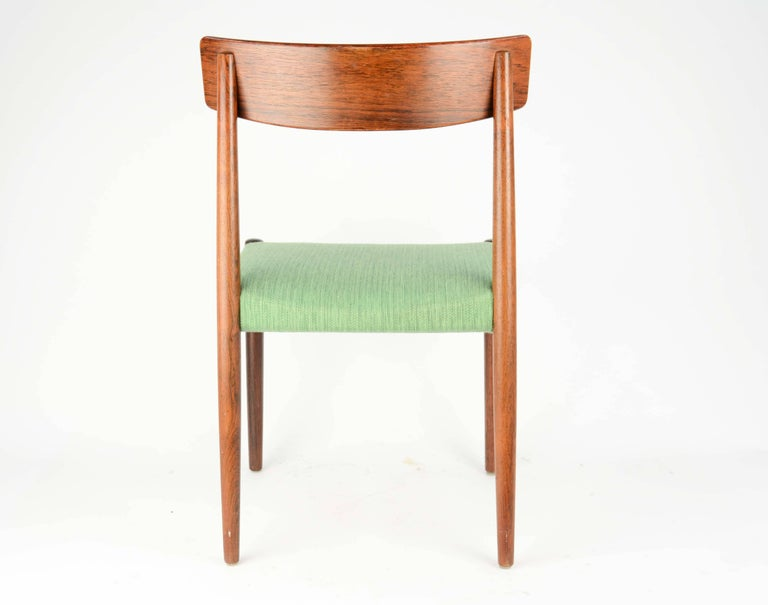 Spectacular Set of Eight Rosewood Chairs by Nils Jonsson for Troeds of Sweden 6