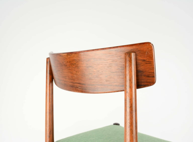 Spectacular Set of Eight Rosewood Chairs by Nils Jonsson for Troeds of Sweden 9