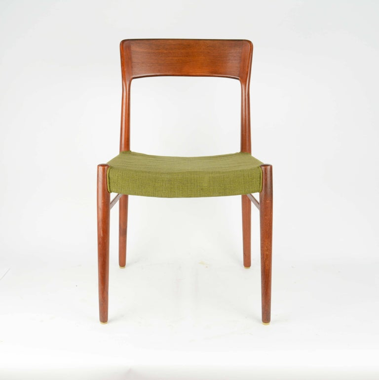 Set of Six Teak Dining Chairs by Niels Otto Møller, Model 77 2