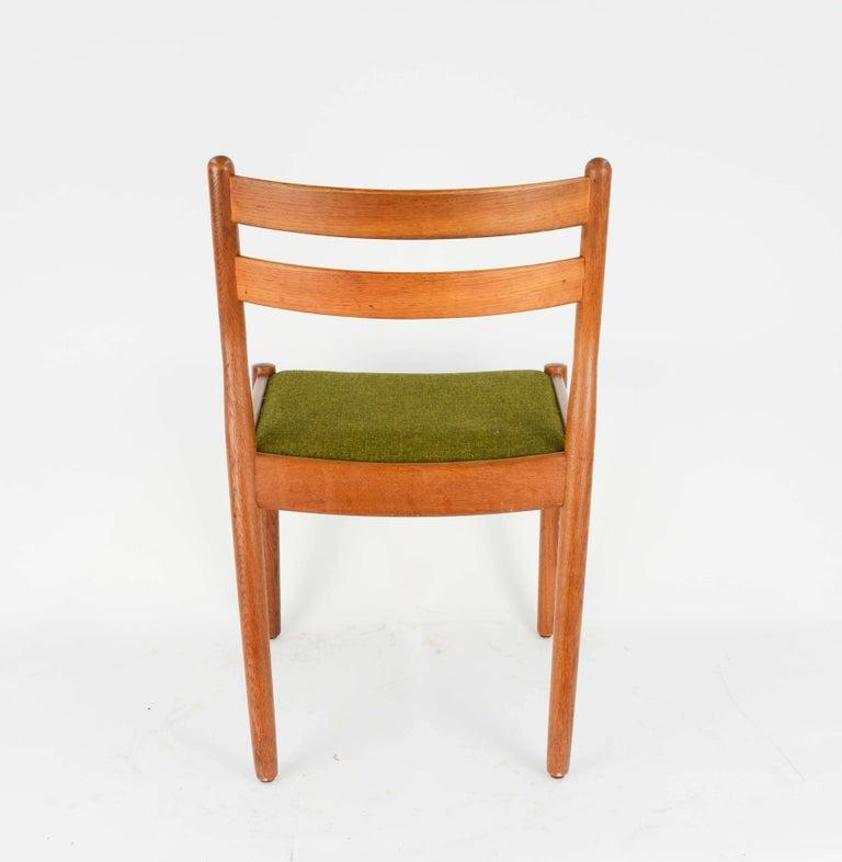 Set of Eight Danish Dining Teak FDB Chairs after Børge Mogensen 3