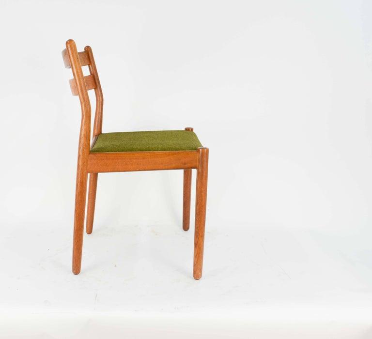 Set of Eight Danish Dining Teak FDB Chairs after Børge Mogensen 4