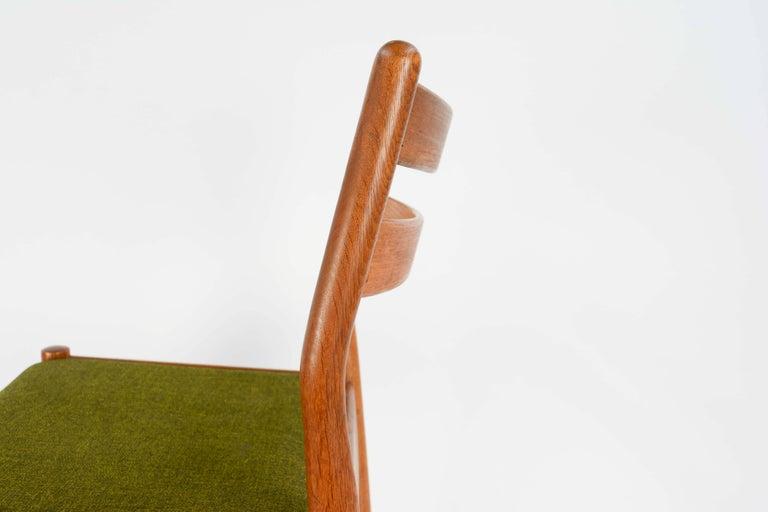 Set of Eight Danish Dining Teak FDB Chairs after Børge Mogensen 6