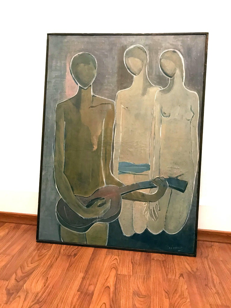 American 'Musical Composition' by Stuart H. Church, 1953 For Sale