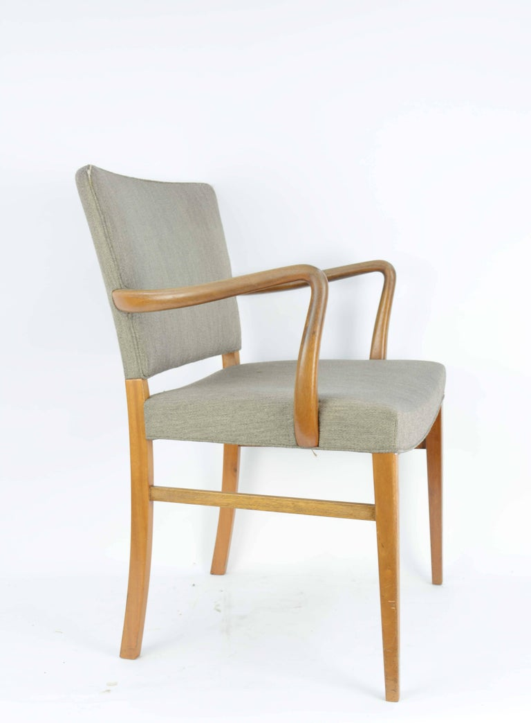 Pair of Armchairs by Ole Wanscher for A. J. Iversen 2