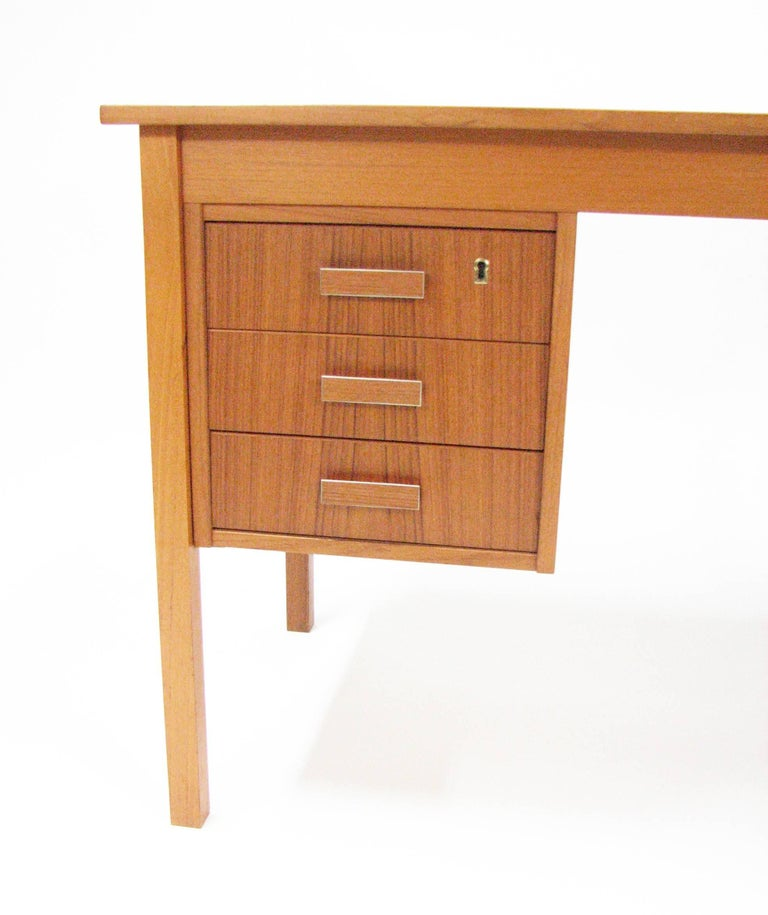 Midcentury Teak Writing Desk by Ejsing Møbelfabrik 3