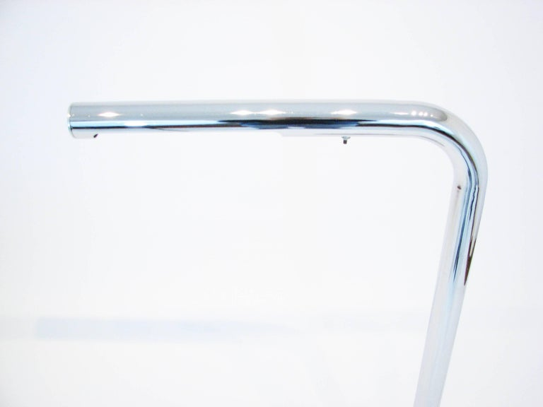 Midcentury Polished Chrome Floor Lamp by Robert Sonneman 2