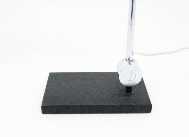 Midcentury Polished-Chrome Orb Table Lamp by Robert Sonneman 4