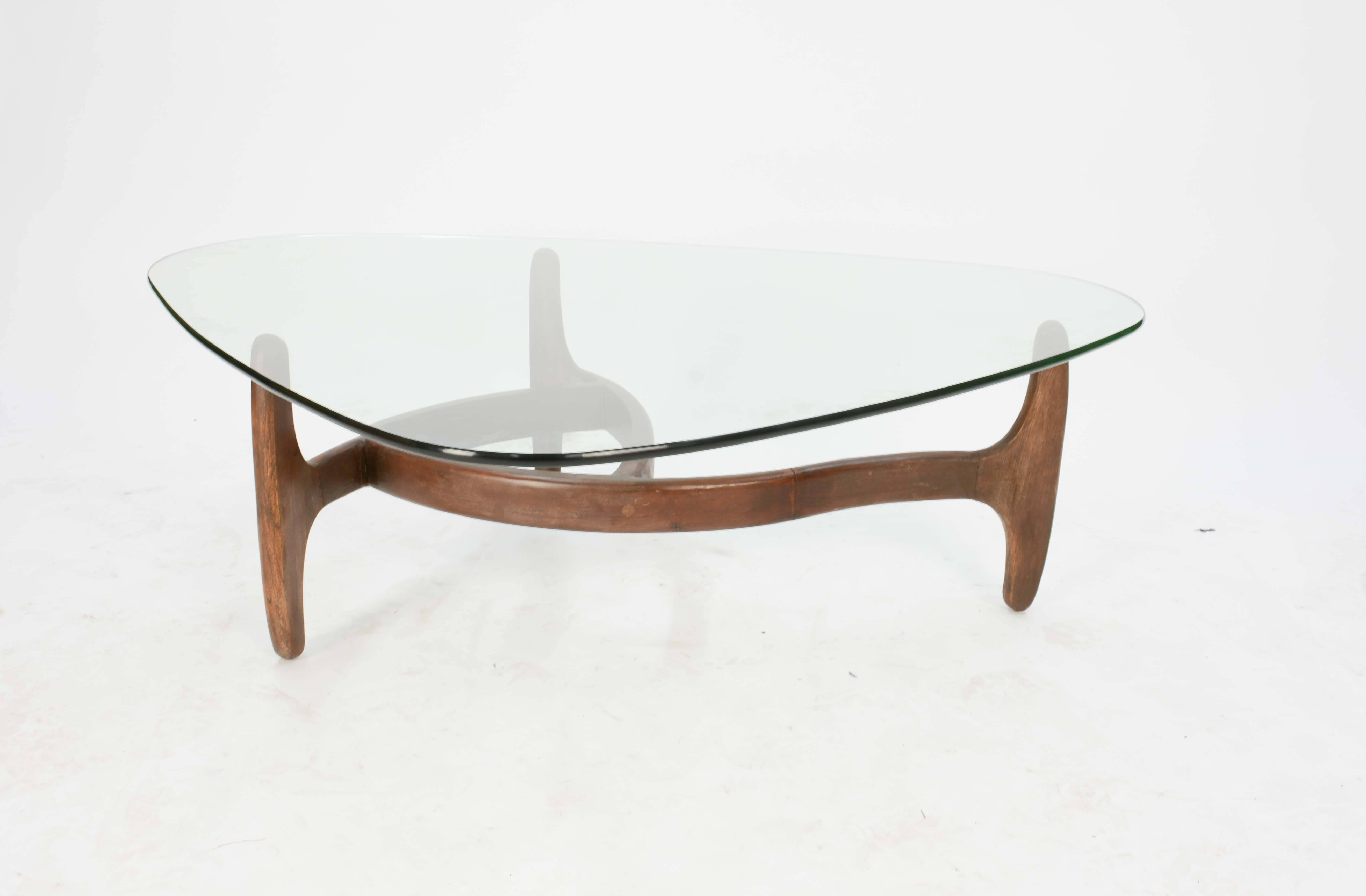 Biomorphic Coffee Table after Adrian Pearsall at 1stdibs