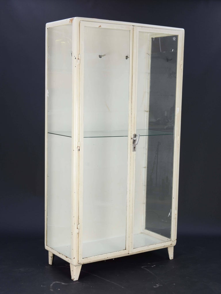 Industrial 940s Eastern European Medical Cabinets For Sale