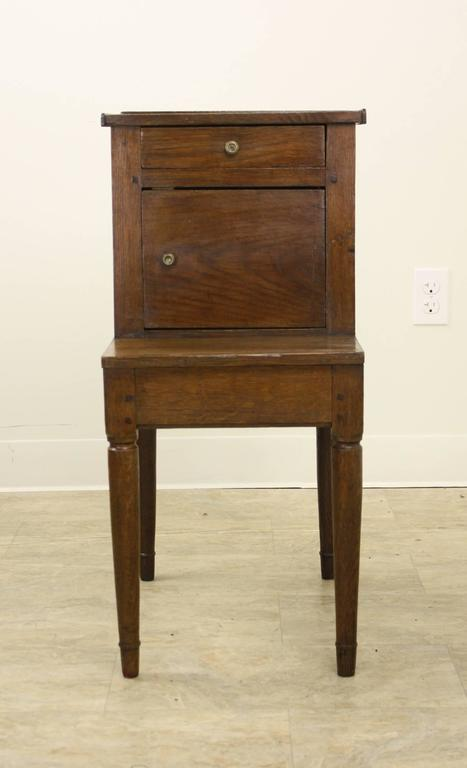 Antique French Oak Side Cabinet In Good Condition For Sale In Port Chester, NY