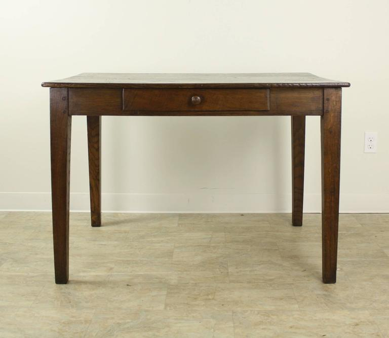 Rich Chestnut Antique French Writing Table At 1stdibs