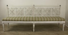 Antique Late Gustavian Long Bench
