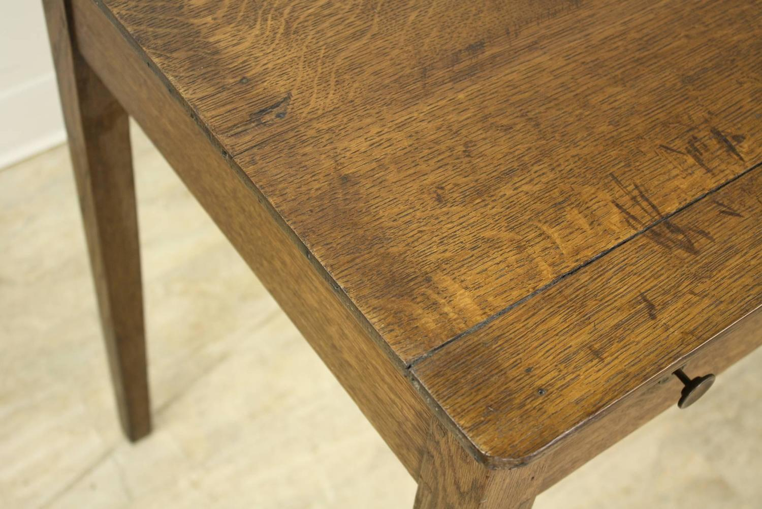 Antique Oak Side Table For Sale At 1stdibs. Full resolution  photograph, nominally Width 1500 Height 1001 pixels, photograph with #966D35.