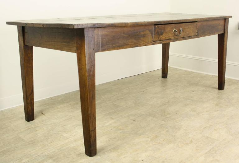 Prime Antique French Chestnut Farm Table At 1Stdibs Spiritservingveterans Wood Chair Design Ideas Spiritservingveteransorg
