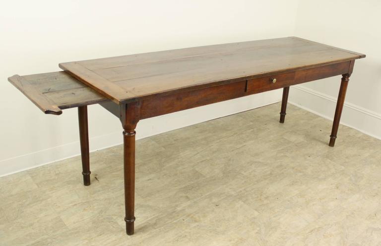 Antique e Drawer Light Cherry Server Narrow Dining Table