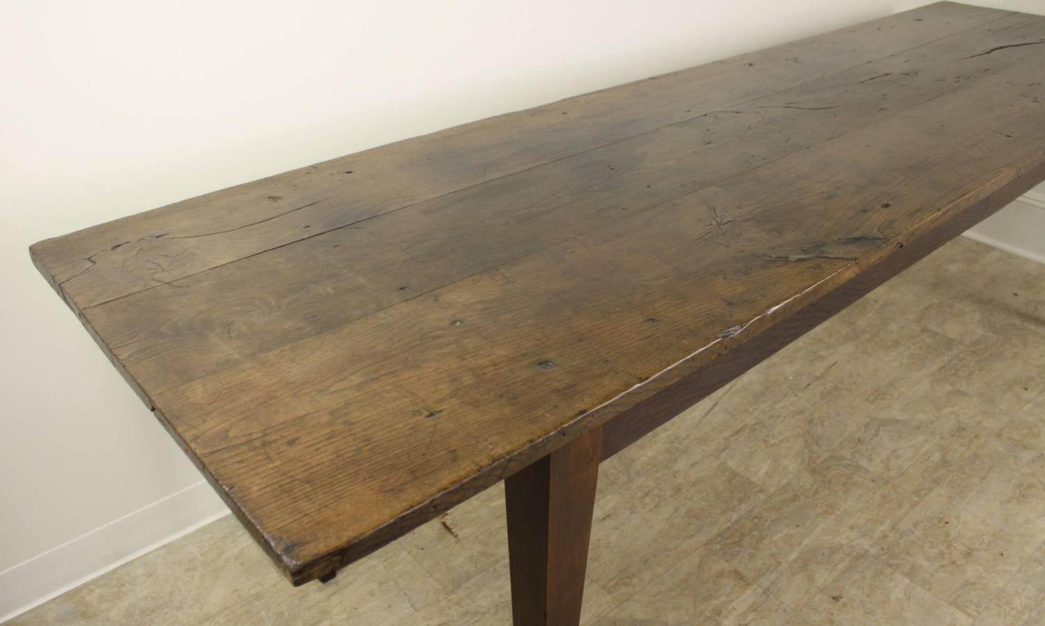 old farm table for sale antique chestnut farm table for at 1stdibs 7160