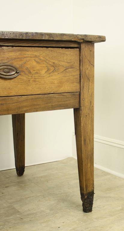 antique rustic work table or server for sale at 1stdibs. Black Bedroom Furniture Sets. Home Design Ideas