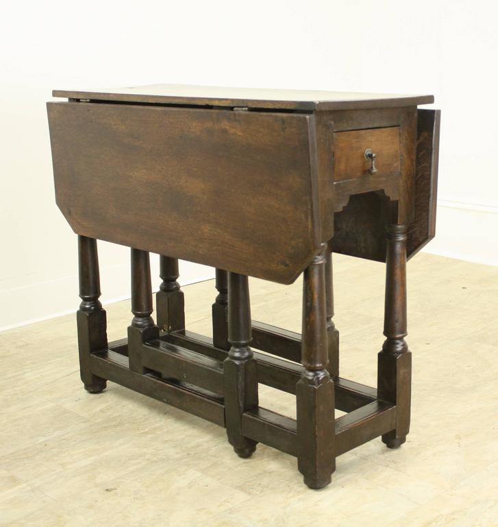 Period Welsh Oak Gate Leg Table For Sale At 1stdibs