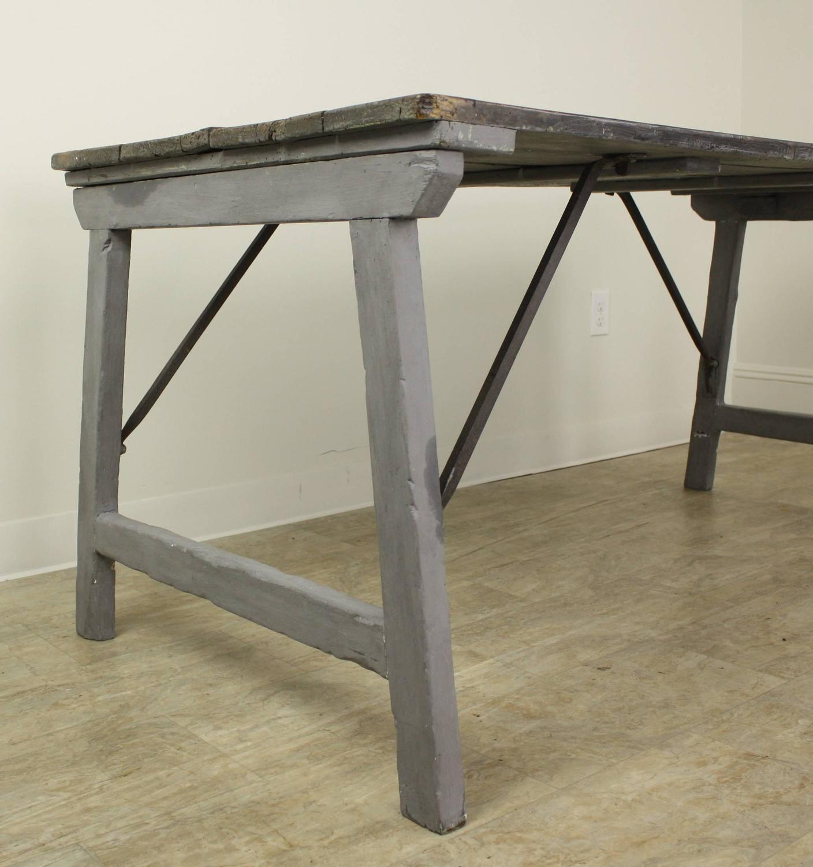 antique provincial folding table for sale at 1stdibs. Black Bedroom Furniture Sets. Home Design Ideas