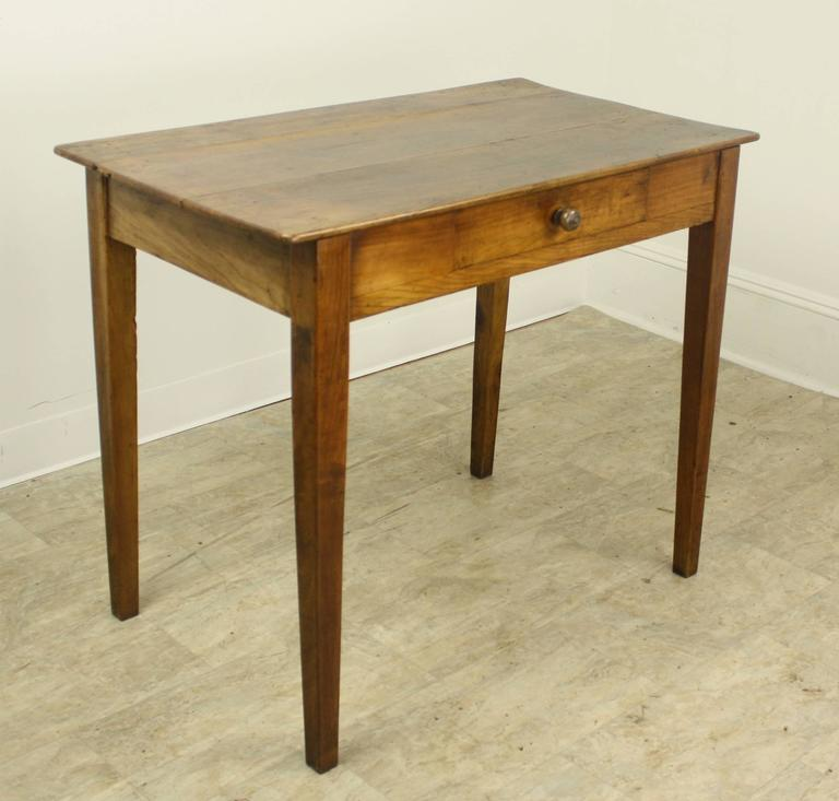 Superb Antique Cherry Side Table 2