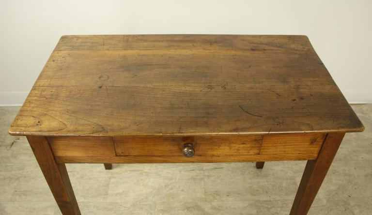 19th Century Antique Cherry Side Table For Sale - Antique Cherry Side Table For Sale At 1stdibs