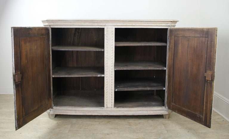 walnut cabinets kitchen pictures 18th century bleached oak two door buffet for at 1stdibs 6989