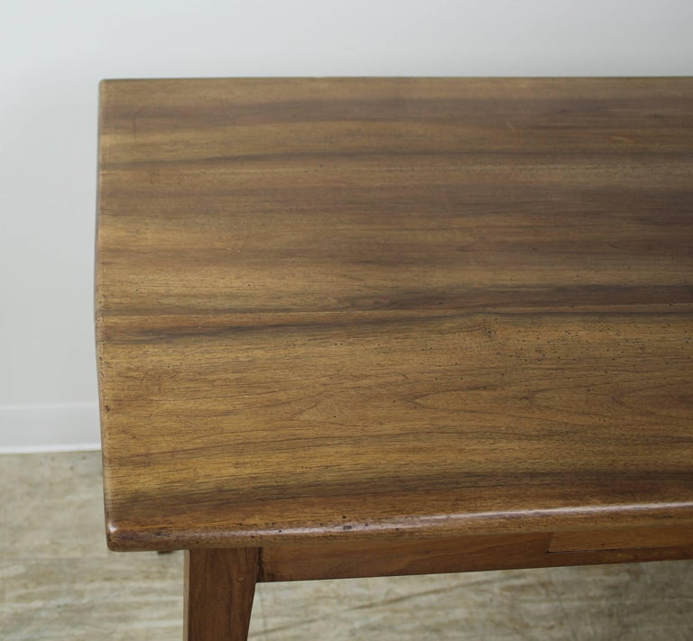 Antique Walnut Side or Writing Table For Sale 1