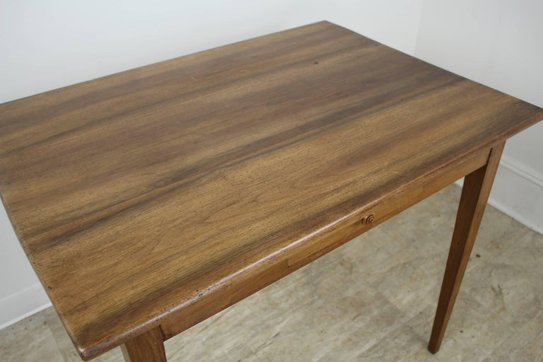 Antique Walnut Side or Writing Table For Sale 2
