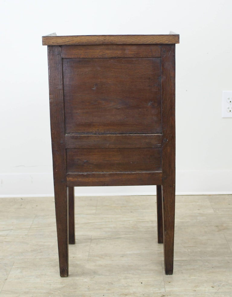 Antique Oak Tambour Fronted Side Cabinet 6