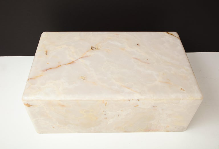 Rare Custom Steve Chase Onyx Coffee Table For Sale 4
