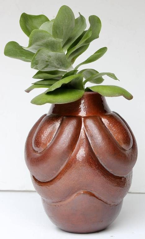 Mexico, Hand-Wrought Copper Vase III 3