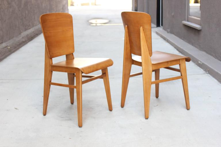 Pair of French Bentwood Chairs 2