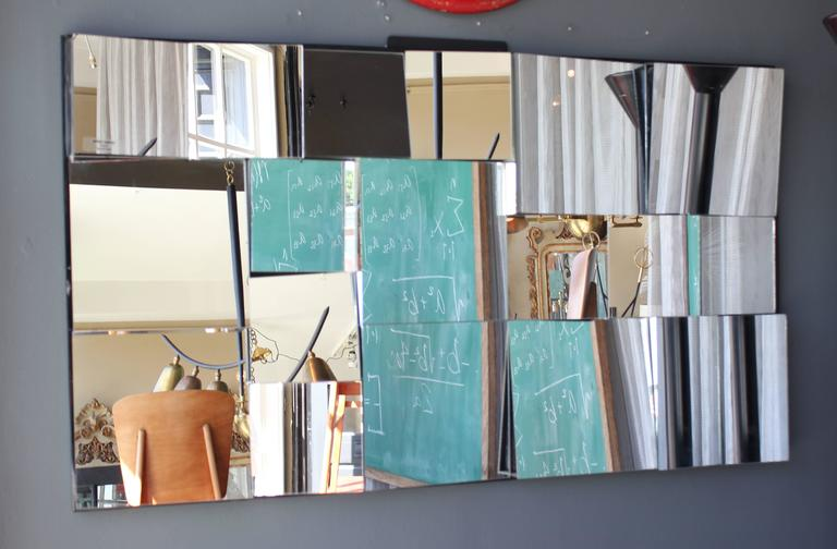 1970s Neal Small slopes mirror.