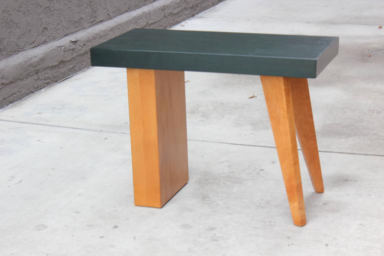American 1940s California Modern Table For Sale