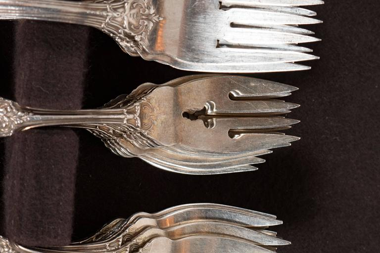 205 Piece Sterling Flatware Service Designed by Ernest Meyers for Reed & Barton 4