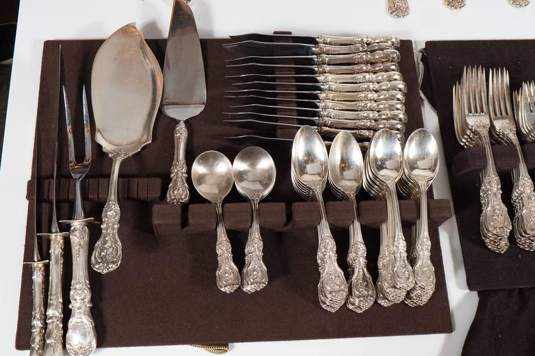 205 Piece Sterling Flatware Service Designed by Ernest Meyers for Reed & Barton 6