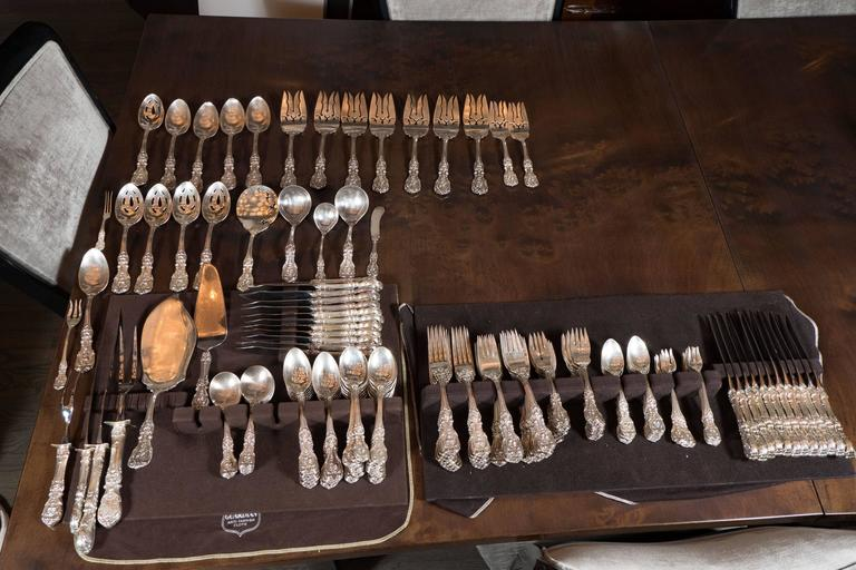205 Piece Sterling Flatware Service Designed by Ernest Meyers for Reed & Barton 5