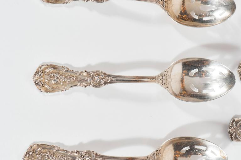 205 Piece Sterling Flatware Service Designed by Ernest Meyers for Reed & Barton 10