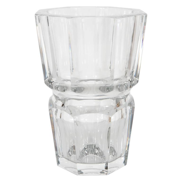 Gorgeous Baccarat Crystal Edith Vase At 1stdibs