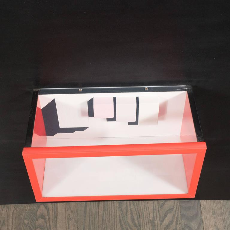 Mid-Century Multimedia Constructivist Style Box Sculpture In Good Condition For Sale In New York, NY