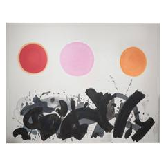 Large-Scale Abstract Expressionist Painting After Adolph Gottlieb