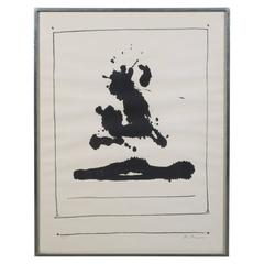 "Robert Motherwell ""Untitled"", from New York International, Lithograph, 1966"