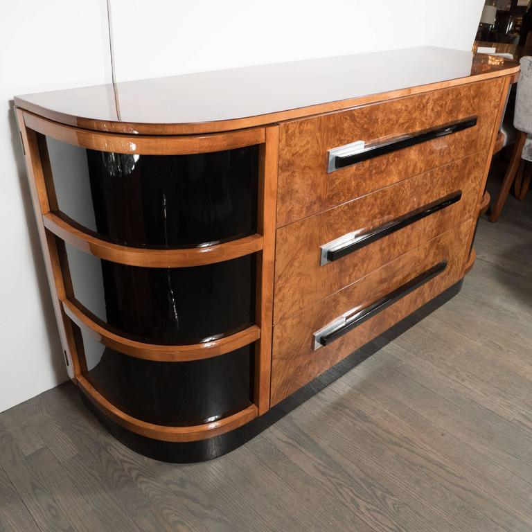 Streamline Machine Age Art Deco Sideboard by Walter Dorwin Teague for Hastings  3