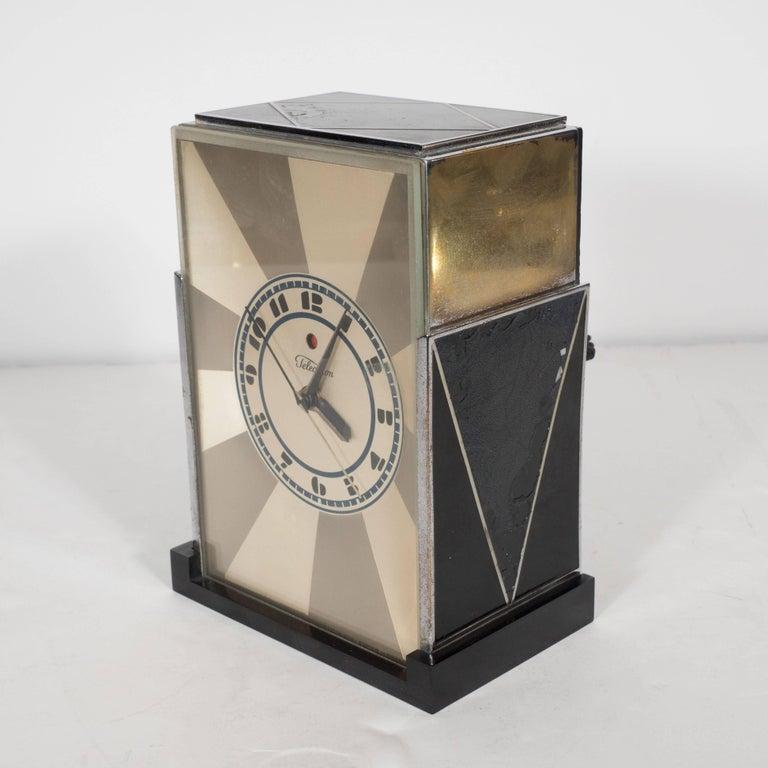 Quot Modernique Quot Clock By Paul Frankl For Warren Telechron