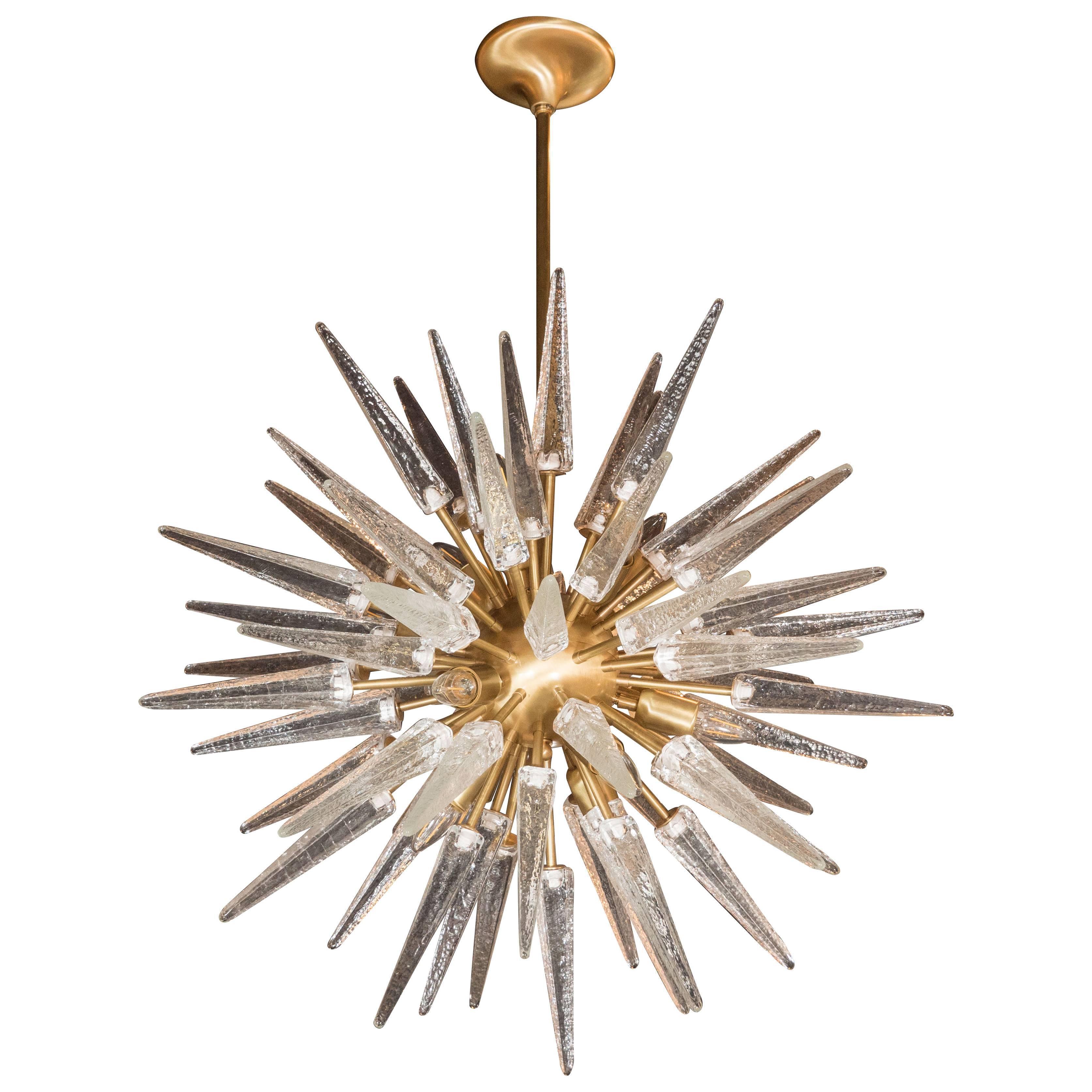 for chandelier sputnik lighting pendant chandeliers f brass or org lights at monumental urchin id sale furniture