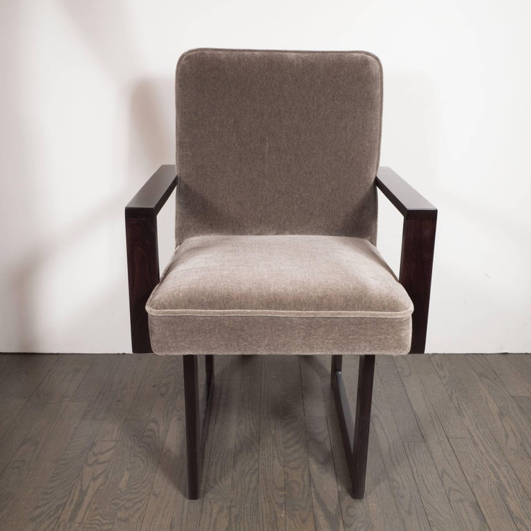 set of eight signed quot cubist quot dining chair by vladimir