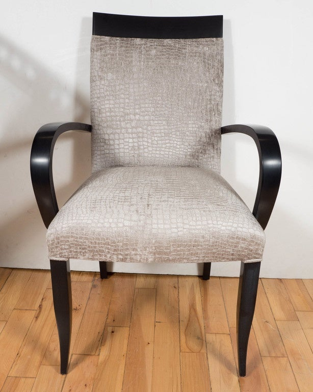 Mid century modernist bentwood occasional or desk chair by for Red chair design jackson wy