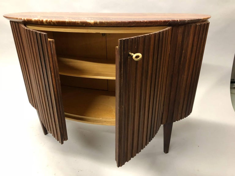 Italian Mid-Century Modern Credenza / Console / Sideboard/ Bar by Paolo Buffa For Sale 1