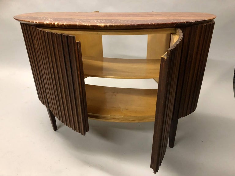 Italian Mid-Century Modern Credenza / Console / Sideboard/ Bar by Paolo Buffa For Sale 3