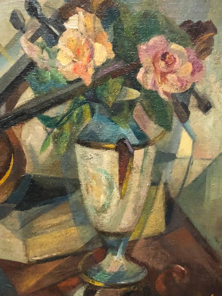 20th Century Cubist Still Life